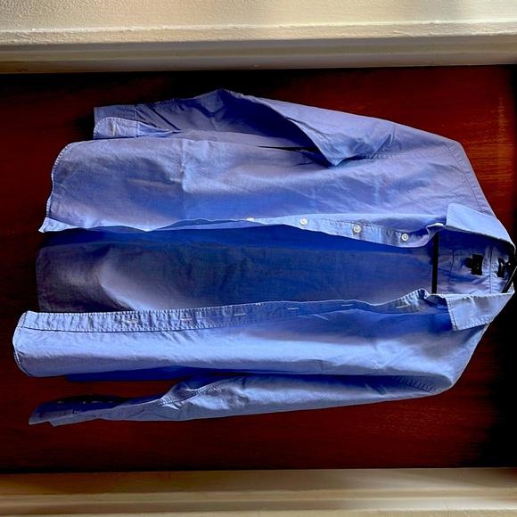 J. Crew Men's Ludlow Dress Shirt Size Small Slim Fit
